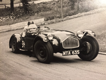 allard J2 MTA 635 race black and white
