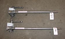 Pair of ASTON MARTIN steering boxes for Swiss customer: Adapted to accept electric steering