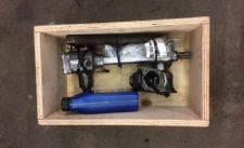 Fully rebuilt steering box for 1940s Opperman Motocart